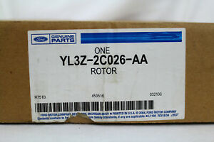 NOS 1999-2004 FORD TRUCK EXPEDITION NAVIGATOR REAR BRAKE ROTOR YL3Z-2C026-AA