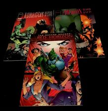 SAVAGE DRAGON Blood & Guts 1-2 Red Horizon 1 Image Comics Lot Erik Larsen NM