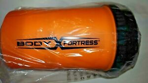 BODY FORTRESS SHAKER BOTTLE ARNOLD EXPO - MULTIPLE COMPARTMENTS - NEW