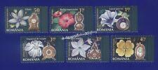 Briefmarken aus Rumänien mit Blumen-Motiv