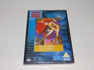 Urusei Yatsura - Movie 3 Remember My Love   Anime Manga DVD   Region Free   New