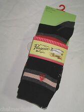 BNWT -  ORIGINAL PENGUIN Mens Striped Socks  - Black  3 Pairs