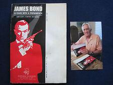 RARE IRANIAN EDITION - IAN FLEMING - JAMES BOND BOOK SIGNED by JAMES BOND 007