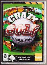 Crazy GOLF WORLD TOUR-età 3 + - Windows 98 / XP-CD-ROM PC GAME-NUOVO e SIGILLATO
