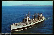 Uss Mispillion AO-105 Carte Postale Nous Marine Vaisseau Flotte Huile Citerne