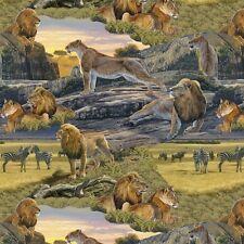 "Windham Fabrics: Return to the wild 44"" wide x 1 metre"