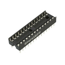 17pcs IC Integrated Circuit 28 Pin DIP ICs Sockets Adaptor