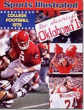 September 8, 1975 Football, University of Oklahoma Sooners Illustrated A