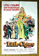 "a NEW GANGSTER MOB is in town - A MOB OF MIDGETS 1973 poster -- ""LITTLE CIGARS M"