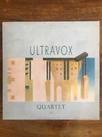 ULTRAVOX- QUARTET VINYL ALBUM Record LP