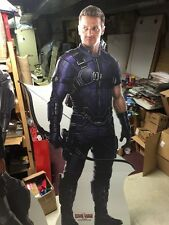 HAWKEYE STANDEE - CAPTAIN AMERICA CIVIL WAR movie memorabilia standups
