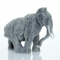 Mammoth Marble Figurine Unique Gift Animal Manual Processing  #5