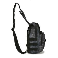 Men Molle Tactical Sling Chest Bag Assault Pack Messenger Shoulder Bag Fashion