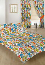 Linge de lit et ensembles multicolores coton mélangé