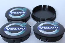 4 x Silikon Nabenkappen Radkappe Alufelgen 60mm/55mm für VOLVO