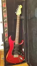 Fender Stratocaster Mexico Rot
