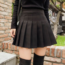 Summer Womens Mini Pleated Skirt High Waist School Skater Tennis Shorts Skirts