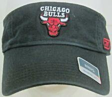 NBA Chicago Bulls Youth Black Adjustable Visor Hat By Reebok