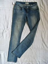 LTB Aspen Damen Blue Jeans W26/L30 Stretch low waist slim fit straight slim leg