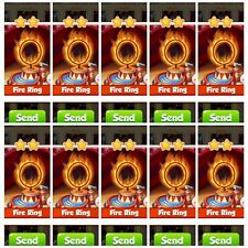 Coin Master ☆☆  10x Fire Ring ☆☆ Fastest Delivery