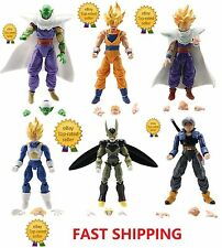 "A10 Dragon Ball Z 5"" Figures: Piccolo Cell Trunks Super Saiyan Goku Gohan Vegeta"