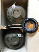 German Filter 2 Filters Drager 1987 1986 New 40mm & 1X 60mm Adapter Nbc