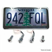 Stainless Steel License Plate Lighted Bolts KICBBOLTSB hot rod