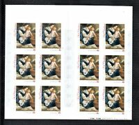 VC222 CANADA - BOOKLET 2014 CHRISTMAS PAINTING 12 X P (.85c) MINT NH VF