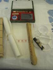 Japanese / Chinese Painting Sumi e Calligraphy Brushes,  Ink & Inkstone Set (LGS
