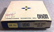Hoya 49mm CS COLOR-SPOT GREEN Lens Filter Japan Genuine 49 mm CS-GREEN