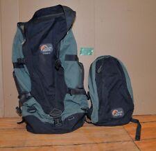 Lowe Alpine Voyageur 65 trekking backpack plus day pack hiking camping lot