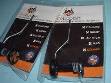 Two (2) RITE CERMAG Bobbins Fly Tying Ceramic Thread Bobbin 5000-U