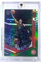 2019-19 Panini Chronicles Elite Green Trae Young Rookie RC #272, Atlanta Hawks