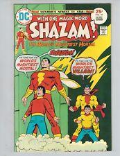 SHAZAM! 19  Captain Marvel  1st Reverse-Captain Marvel!  VF 1975!