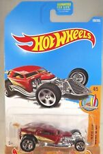 2017 Hot Wheels #100 Surf's Up 4/5 SURF CRATE Maroon w/5 Spokes Wheels