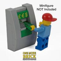 LEGO Cash Machine ATM - Town City Bank Including money piece