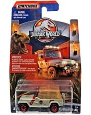 2018 Matchbox cars Jurassic World Park Legacy Collection '93 Jeep Ranger #12 NEW