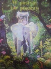 W Pustyni i w Puszczy Henryk Sienkiewicz Polish Children's Book 1993 HC