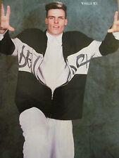 Vanilla Ice, Jay Ferguson, Double Full Page Vintage Pinup