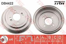 DB4422 TRW Brake Drum Rear Axle