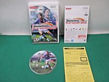 Nintendo Wii -- Winning Eleven Play Maker 2012 -- *JAPAN GAME* 58567