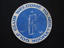 MOLLYMOOK GOLF CLUB COASTER