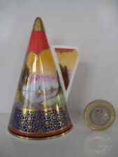 ROYAL WORCESTER SAILS AT SUNSET ART DECO CANDLE SNUFFER CONNOISSEUR COLLECTION