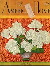 1936 American Home April - Houses in Miami Beach, Brightwaters NY;Hendersonville