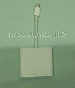Genuine Apple A1621 USB-C Thunderbolt 3 To Digital AV Multiport HDMI Adapter