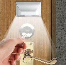 Auto PIR Sensor Infrared IR Wireless Motion Detector Door Keyhole LED Light Lamp
