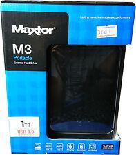 Maxtor STSHX-M101TCBM M3 500GB External Hard Disk Drive USB3.0 Brand New