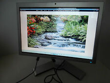 "Dell SP2008WFP 20"" Widescreen LCD Monitor w/4-Port USB Hub Webcam DVI VGA WK522"