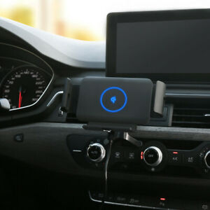For Samsung Galaxy Z Fold 2 Automatic Clamping Car Mount Holder Wireless Charger