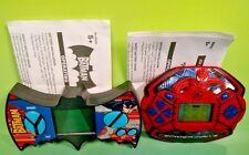 2 Marvel DC Batman + Spider-Man - Electronics Handheld LCD Game Rare Techno Srce